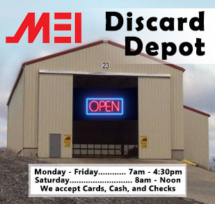 Discard Depot Hours